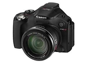 Canon PowerShot SX40 HS Digital Camera - Black (12.1MP, Super Wide Angle, 35x Optical Zoom) 2.7 inch Vari-Angle LCD