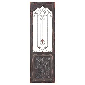 Midwest cbk vintage style scroll door panel wall decor for Decorative kitchen accessories uk