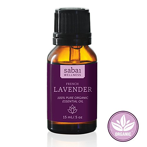 French Lavender Oil, Best Rated Certified USDA Organic Lavender Oil on Amazon! 100% Pure and Undiluted Lavender Essential Oil. Premium High End Therapeutic Grade Essential Oil. Imported & Distilled in France. Premium Essential Oils brought to you by Saba