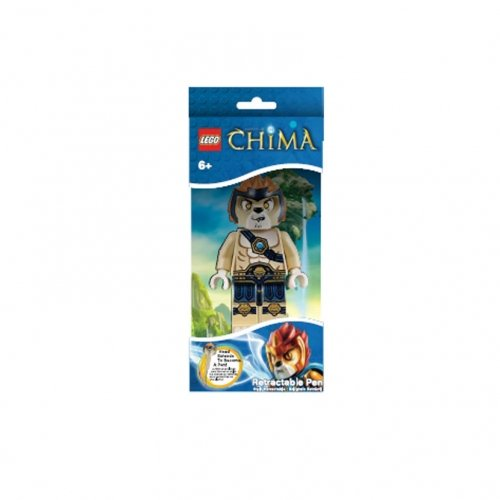 Lego Chima 'Leonidas' Retractable Stationery Character Pen