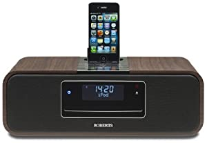 Roberts Sound 100 Bluetooth CD/DAB/FM Digital Sound System with Dock for iPod/iPhone