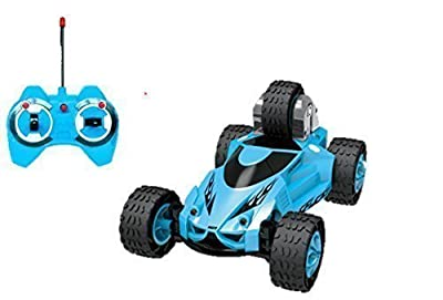Haktoys HAK123 5 Wheeled X-Terrain RC Stunt Car, Led Headlights