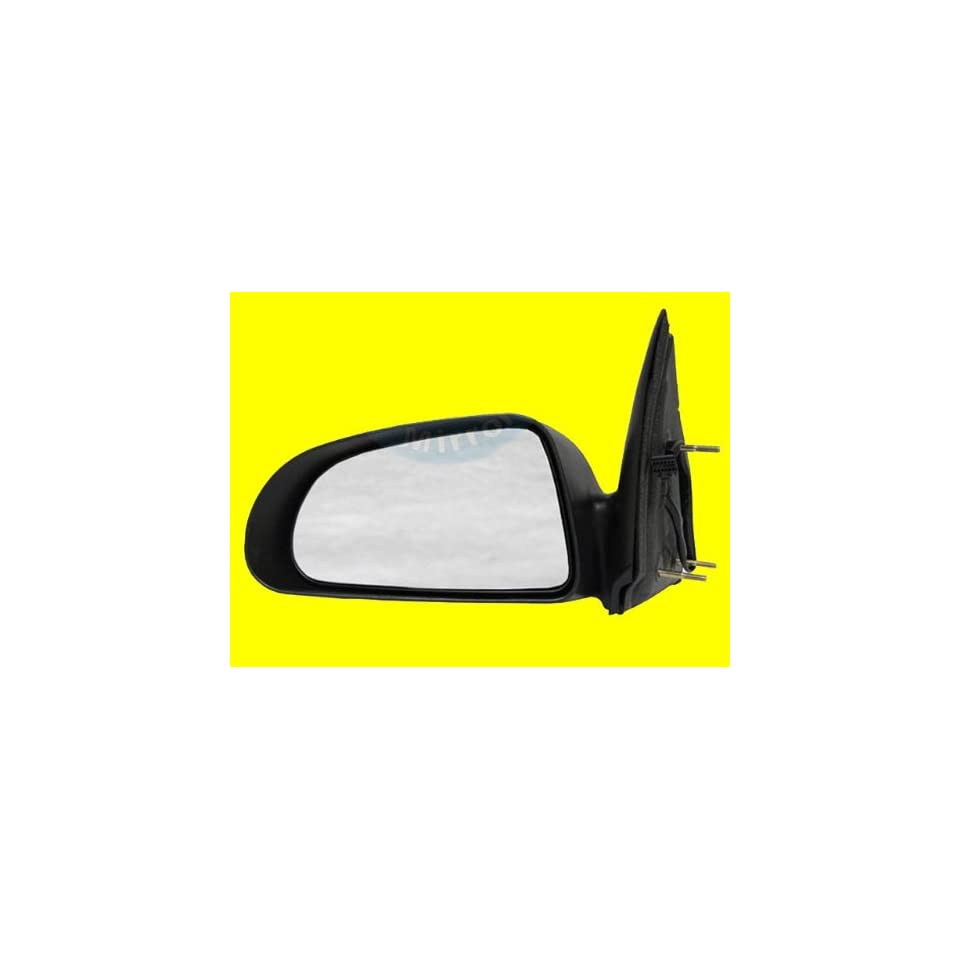 QP D3144 a Dodge Black Power Driver Side Mirror