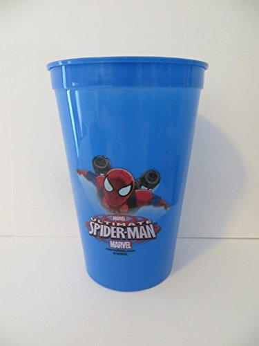 Spiderman Bath Set 3 Pieces - Cup, Mouthwash, Toothbrush with Holder - 1