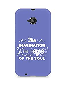 Amez The Imagination is the Eye of the Soul Back Cover For Motorola Moto E2
