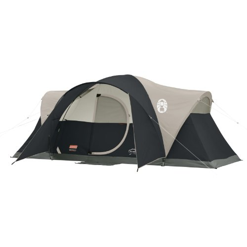 Coleman Montana 8-Person Tent, Black (Coleman Instant Dome 7 compare prices)