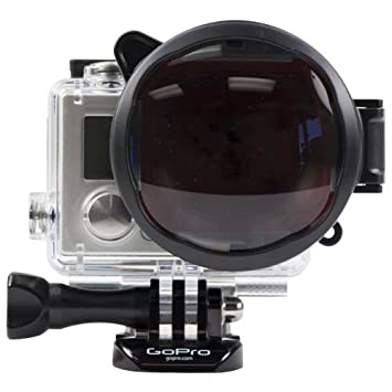 Scatta in Lega Custodia Protettiva Per Gopro Hero 7 Nero 6 Hero 5 52mm UV Filtro Lente