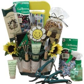 Art of Appreciation Gift Baskets Garden Lovers Gift Tote of Tools and Snack TreatsArt of Appreciation Gift Baskets Garden Lovers Gift Tote of Tools and Snack Treats