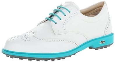 Buy ECCO Ladies Tour Hybrid Wing Tip Golf Shoe by ECCO