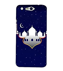 Alla Masjid Makka Madina 3D Hard Polycarbonate Designer Back Case Cover for In Focus M812 :: InFocus M 812