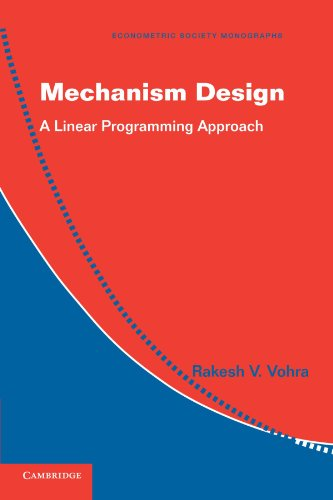 Mechanism Design Paperback (Econometric Society Monographs)