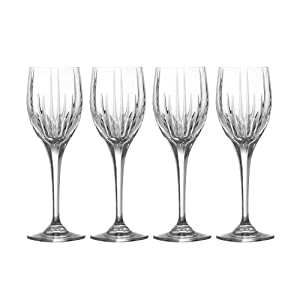 Mikasa Arctic Lights Crystal Goblets, Set of 4