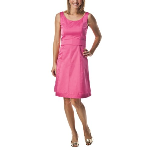 Merona® Collection Women's Scoopneck Dress w/Sash - Pink