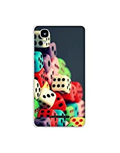 Yureka A0 5510 ht003 (122) Mobile Case from Mott2 - Color Dice (Limited Time Offers,Please Check the Details Below)