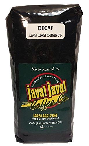 Java! Java! Coffee Roasters Swiss Water Decaf - 16 Oz - Whole Bean