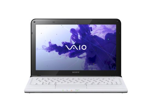 Sony VAIO E11 Series SVE11125CXW 11.6-Inch Laptop (White)