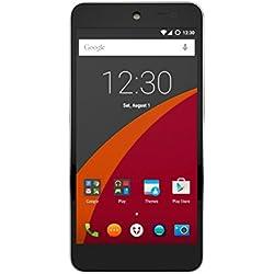 Wileyfox Swift 4G Dual-SIM Smartphone (5,0 Zoll (12,70 cm) Display, 16 GB Speicher, Cyanogen OS 12.1) Sandstein-Schwarz