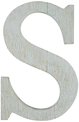 Mud Pie Wood Block Initial-S