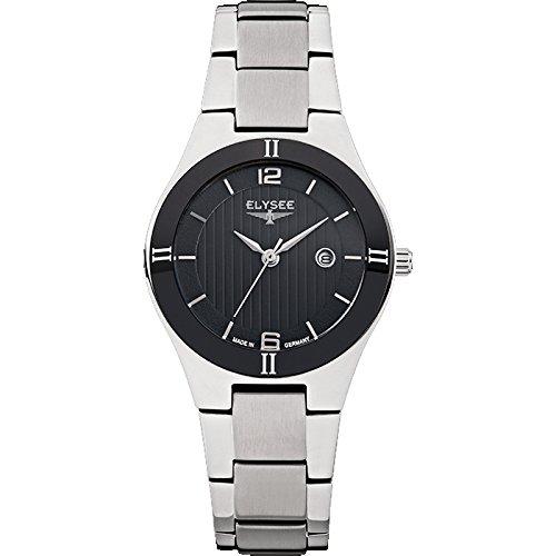 ELYSEE Made in Germany Myra 33043 31mm Silver Steel Bracelet & Case Synthetic Sapphire Women's Watch
