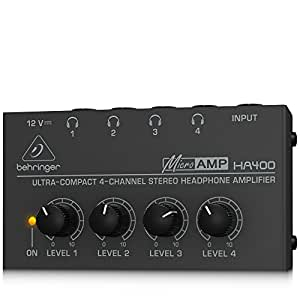 Behringer HA400 4-Channel Stereo Headphone Amplifier
