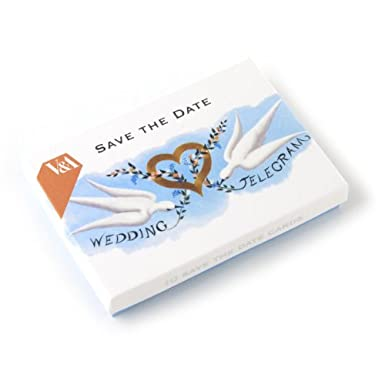 Save The Date Wedding Notecard Set