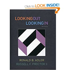 Looking Out, Looking In, 13th Edition