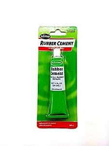 Amazon Com Slime Rubber Cement Tire Repair 1oz Tube