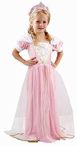 Costume Déguisement - Robe de Princesse pour Fille - Rose - 3 ans
