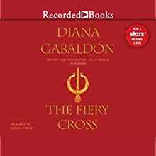 The Fiery Cross: Outlander, Book 5 (       UNABRIDGED) by Diana Gabaldon Narrated by Davina Porter