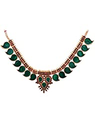 Preethi Gold Plated Gold Metal Chain Necklace For Women (Preethi_31)