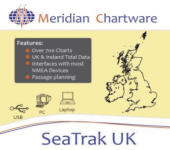 SEAtrak UK with Tides and UK Wrecks database included