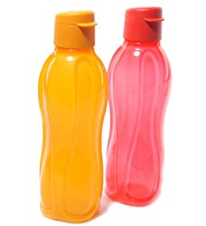 Tupperware Aquasafe Fliptop Bottles 500Ml (Set Of 2)