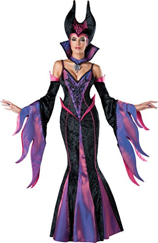 Incharacter Womens Storybook Dark Sorceress Theme Party Halloween Costume