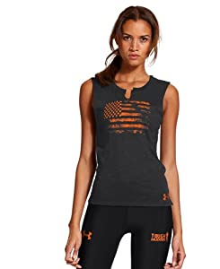 Under Armour Ladies Tough Mudder Charged Cotton® Legacy Sleeveless T-Shirt by Under Armour