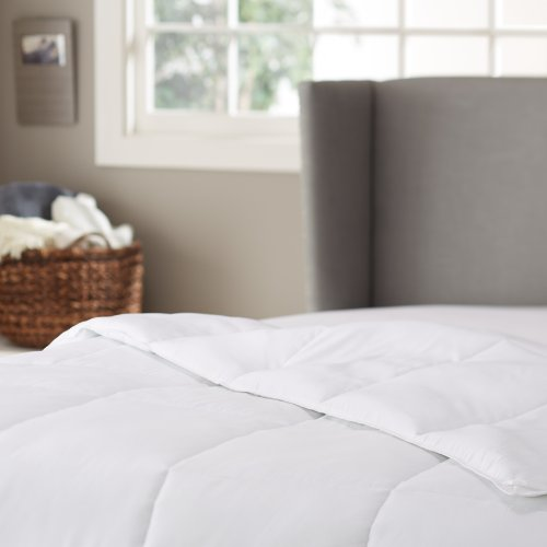 Pinzon Basics Hypoallergenic Down Alternative Year Round Comforter, Twin
