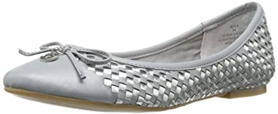 Sperry Top-Sider Women's Ariela Woven Flat,Charcoal,5 M US