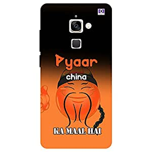 Pyaar China Ka Maal Hai - Mobile Back Case Cover For LeEco Le Max 2