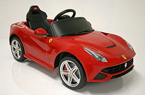 Children Ride On Electric Car Ferrari F12 With License Kids Battery Ride On Wheel Motorized Dynamics Remote Control Toy