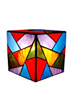 Arte Dal Mondo Lámpara De Dormitorio Cubo Triangoli