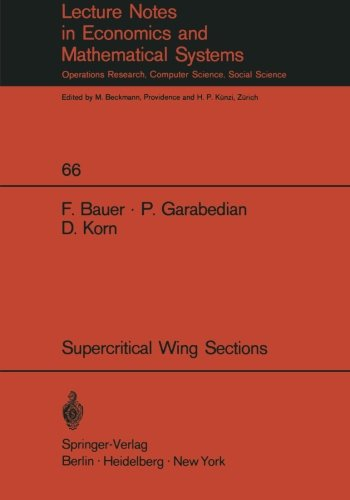 A Theory of Supercritical Wing Sections, with Computer Programs and Examples (Lecture Notes in Economics and Mathematica