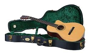 Black New Guardian CG-020-DJ Deluxe Hardshell Case for Jumbo Acoustic Guitar