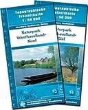 Naturpark Westhavelland Nord: Topographische Freizeitkarte 1:50000