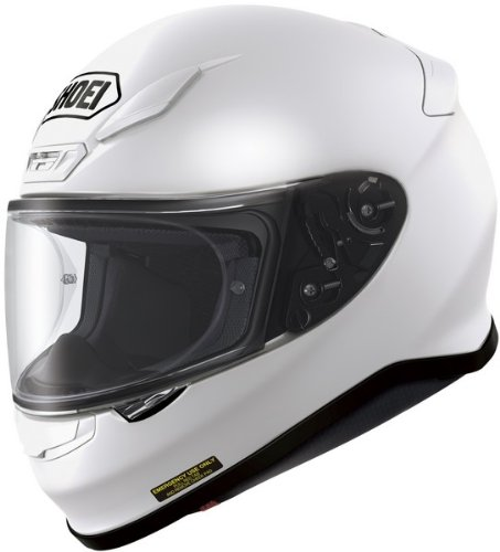 Shoei RF-1200 Solid Full Face Motorcycle Helmet - White (XX-Large)