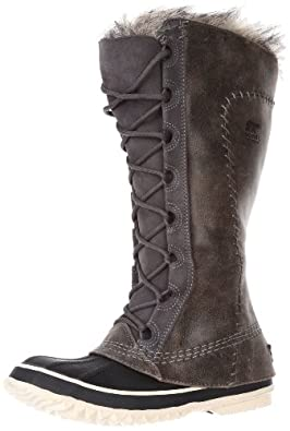 Sorel Women's Cate The Great NL1642 Boot,Pewter Kettle,8 M US