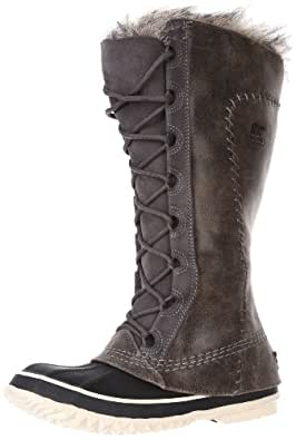 Sorel Women's Cate The Great NL1642 Boot,Pewter Kettle,12 M US