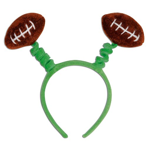 Football Boppers Party Accessory (1 count) (1/Pkg)