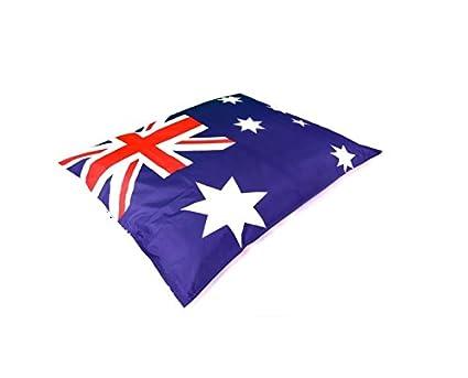 Funda para puf gigante bandera-con redonda 400L/de bandera de Australia
