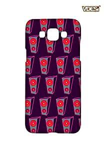 VDESI Designer Matte Back Cover For Samsung Galaxy E7-11540029