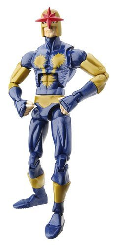 Marvel Legends Exclusive Nemesis Build-A-Figure Wave Action Figure Nova (Marvel Legends Nemesis Series compare prices)