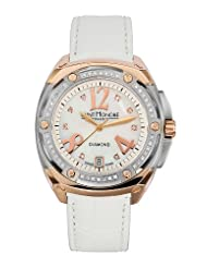 Saint Honore Women's 766080 6Y8DR Haussman 18K Rose Gold Plated Mother-Of-Pearl Diamond Watch